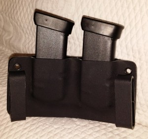 Glock 30 Mag pouch, notice the belt loops