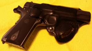 With my Argentine / Colt 1911