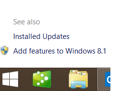 View Installed Updates