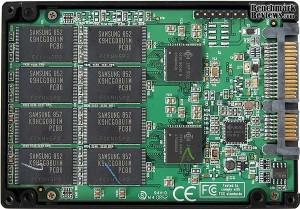 Inside a SSD drive