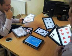 "The best way to ""play"" on an iPad"